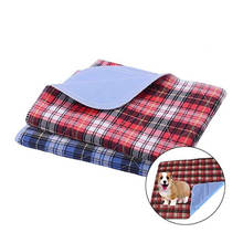 Waterproof Pet Pee Pads Urine Absorbent Training Pad Dog Reusable Washable Pee Pads for Dogs Diaper Mat