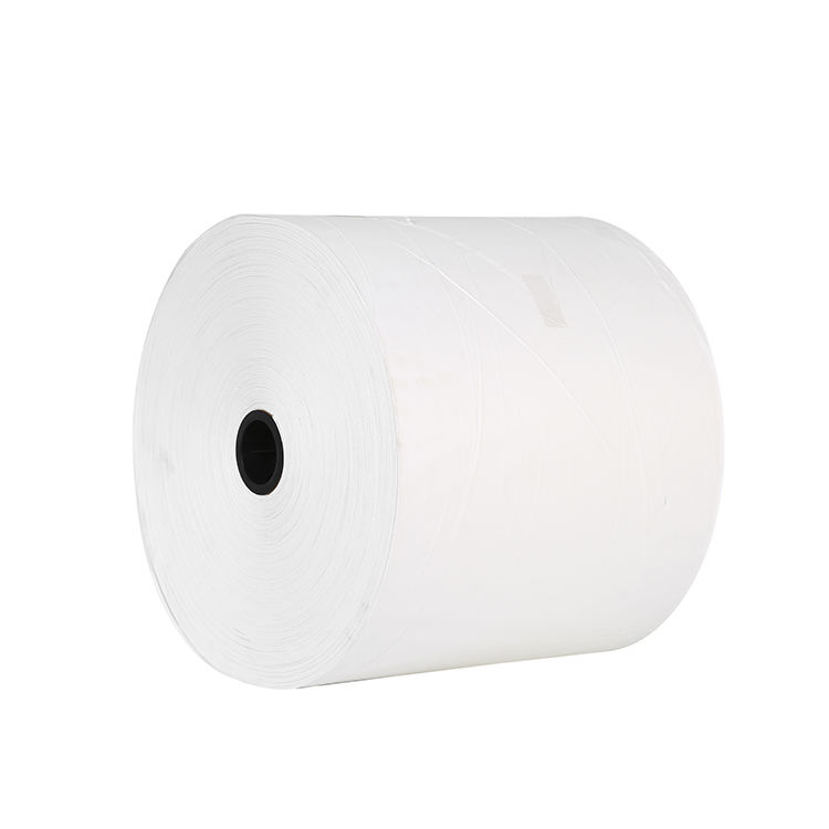 70MM 80GSM 90GSM Printed White Kraft Paper Roll
