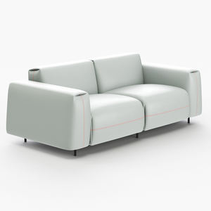Modern Leather Luxury Sofa Living Room Furniture