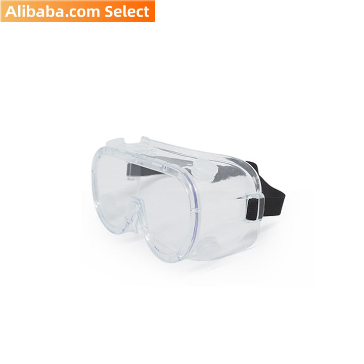 Alibaba select Safety Goggles EN166 with CE Certified (200pcs/Carton)