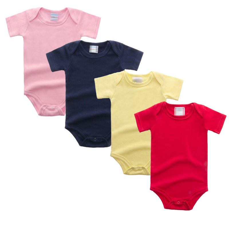 Timely delivery supply stability 100% organic cotton baby rompers baby body suit