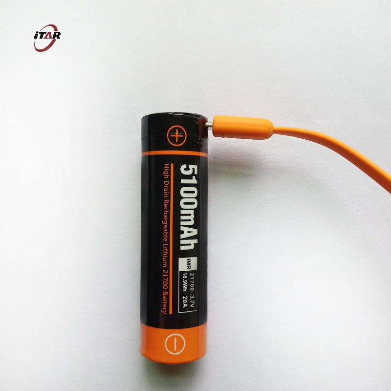 rechargeable 5V 1A USB port lithium battery original 21700 3.7V 5000mAh lithium ion rechargeable batteries
