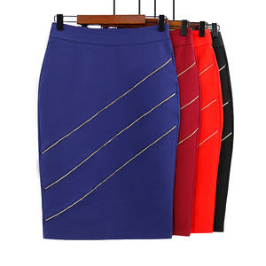 2020 new hot selling Europe and the United States office lady pencil short skirt