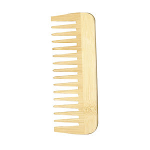 wooden travel hair comb wide tooth best quality wood beard comb eco friendly for hotel