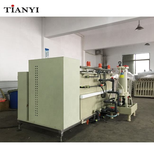 Automatic Manual Small Nickel plating machine for metal plating