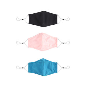 High Quality Elastic Earloop Skin Care Washable Designed Custom Printed Fashion Reusable Protection Face Mask with Filter Pocket