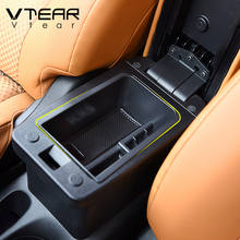 Vtear For Nissan Kicks storage box car container holder centre console box Auto accessories interior decoration car arm rets box