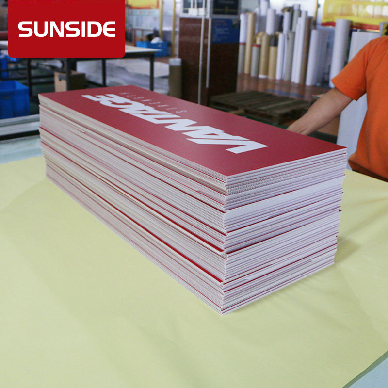 paper poster PVC sheet board printing for advertising