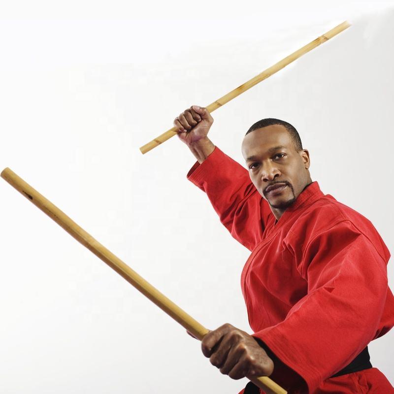 "Burned Rattan Bo Staff Martial Arts Karate Practice Escrima Kali Stick 72/"""