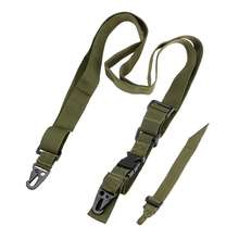 Exclusive Outdoor Accessories Portable Tactical Strap,  Adjustable Hunting 3 Point Sling Bungee Strap System For Belt