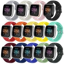 Soft Silicone Band For Fitbit Versa/ Versa 2 /Versa Lite Band Replacement Wristband High Quality Sports Straps