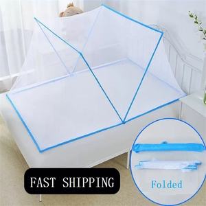 2020 Hot Sale New Portable Quick Folding Anti-mosquito Home Bed Bedding Decoration Adult Mosquito Net