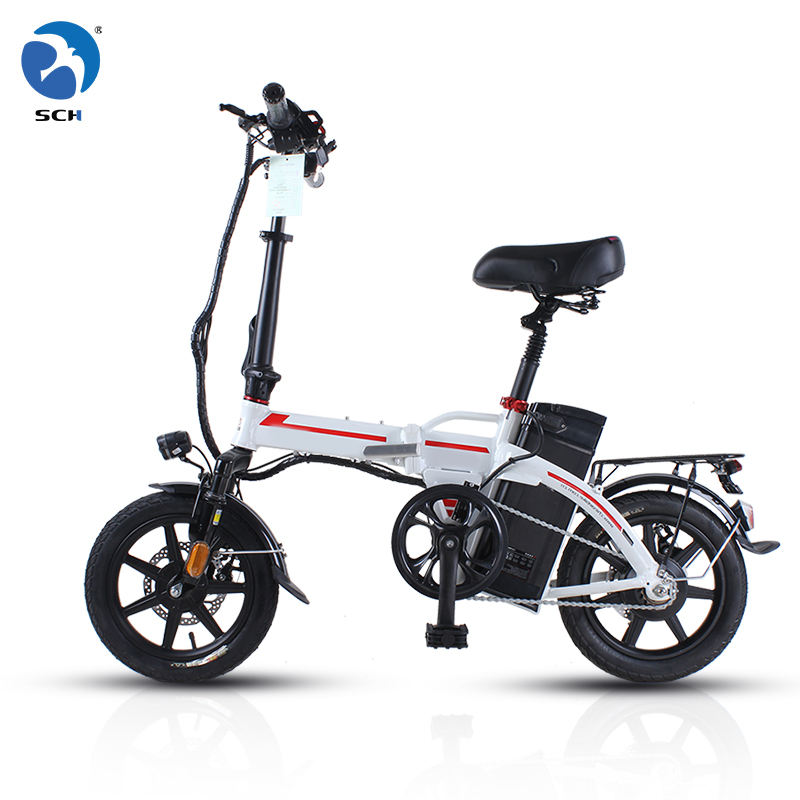 "2020 New Free Shipping山14 ""48v 8ah 10ah 15ah 20ah Battery 350Wモーターbicicleta plegable Folding Electric Bikes自転車"