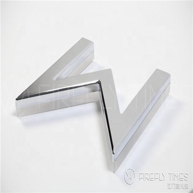 Customized stainless steel door head sign word image wall plating metal letter for signs