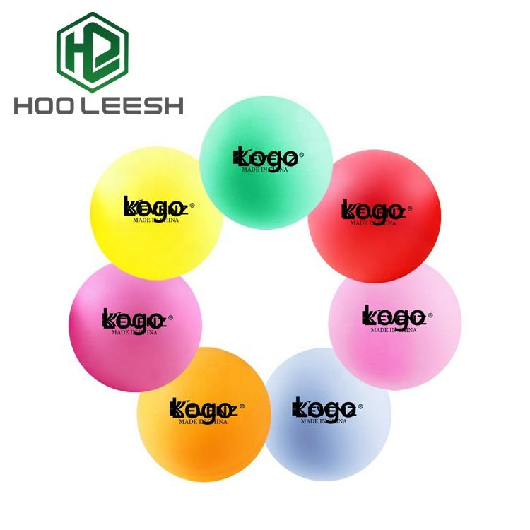 Outdoor Beer Pong Game Plastic Color Ping Pong Ball