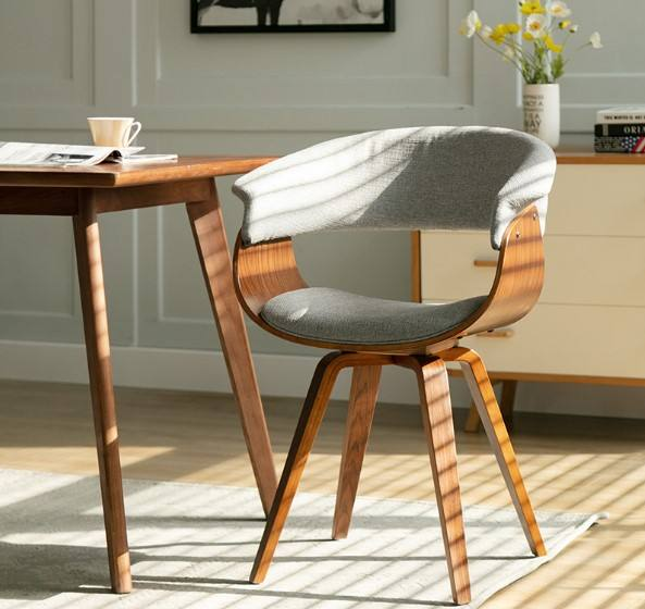Modern American Style Plywood Dining Chair