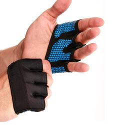 Men Women Four Half Finger Gloves For Weightlifting Gym Fitness