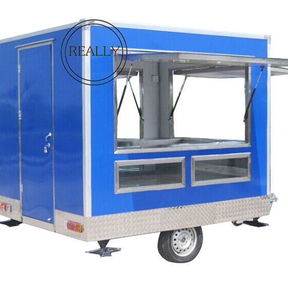 2.8*2.1*2.15 m fast food truck/mobile food trailer/mobile food carts for sale