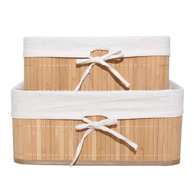 foldable bamboo small wholesale seagrass baskets