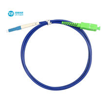 FTTH FTTA FTTX single/multi mode APC UPC sc sc breakout armored fiber patch cord