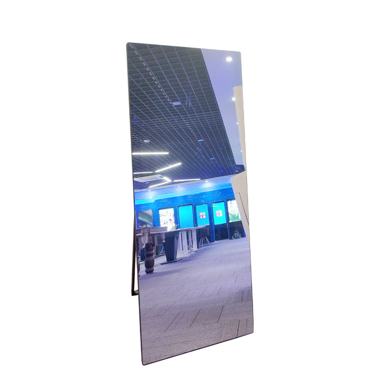 400cd/m2 and 5ms response time smart mirror kiosk