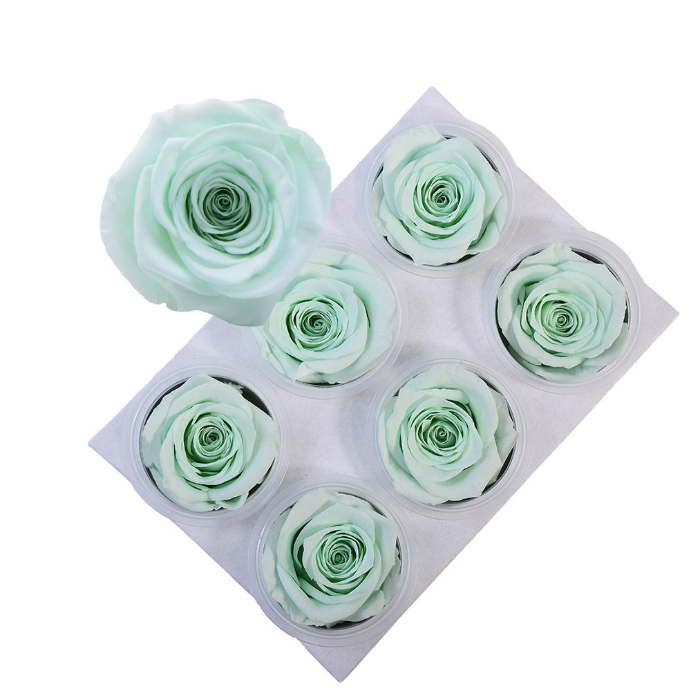 Culinan Grade A Wholesale Blooming 5-6Cm Infinity Rosa Eternal Flower Material Preserved Roses For Online Flowers Business