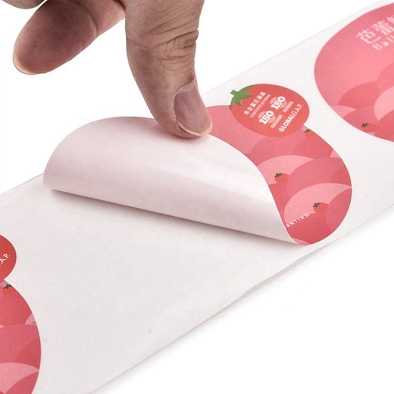 Printing High Quality Custom Adhesive Waterproof Roll Logo Food Label Stickers,Labels For Packaging Food Products