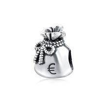 925 sterling silver purse charm fashion jewelry silver charms for bracelet