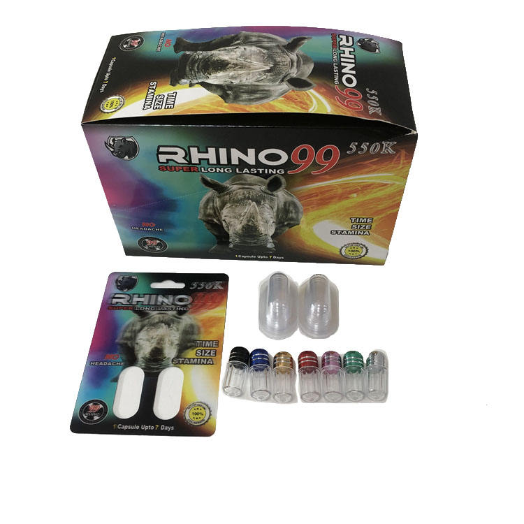 Customized logo rhino 69 7 package shield shape rhino 69 7 toy bottle enhancer black panther male enhancement capsule packages s