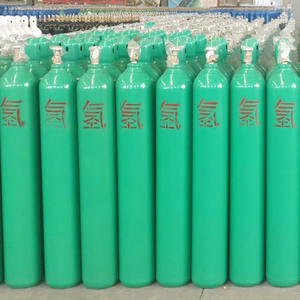 High pressure International standard refillable 40L helium gas cylinder factory price in egypt