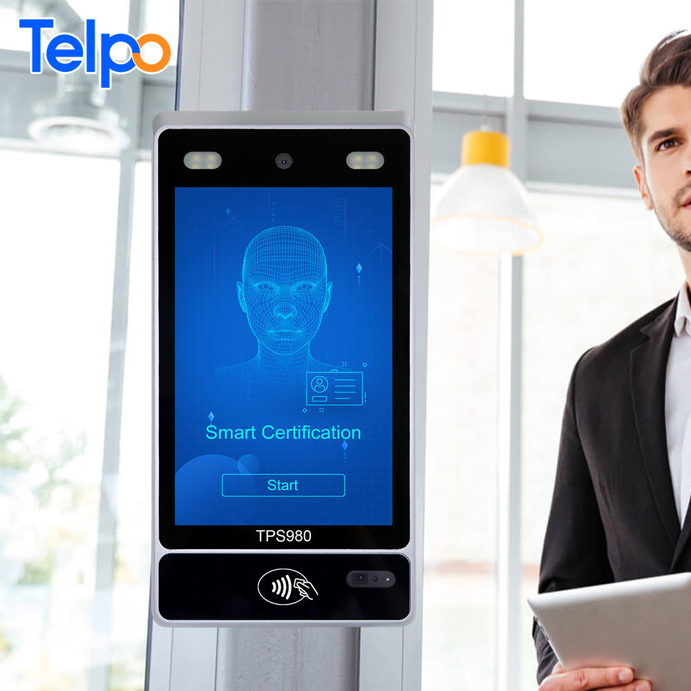 Biometric Security Team Telpo rfid card reader student attendance system with biometric facial recognition