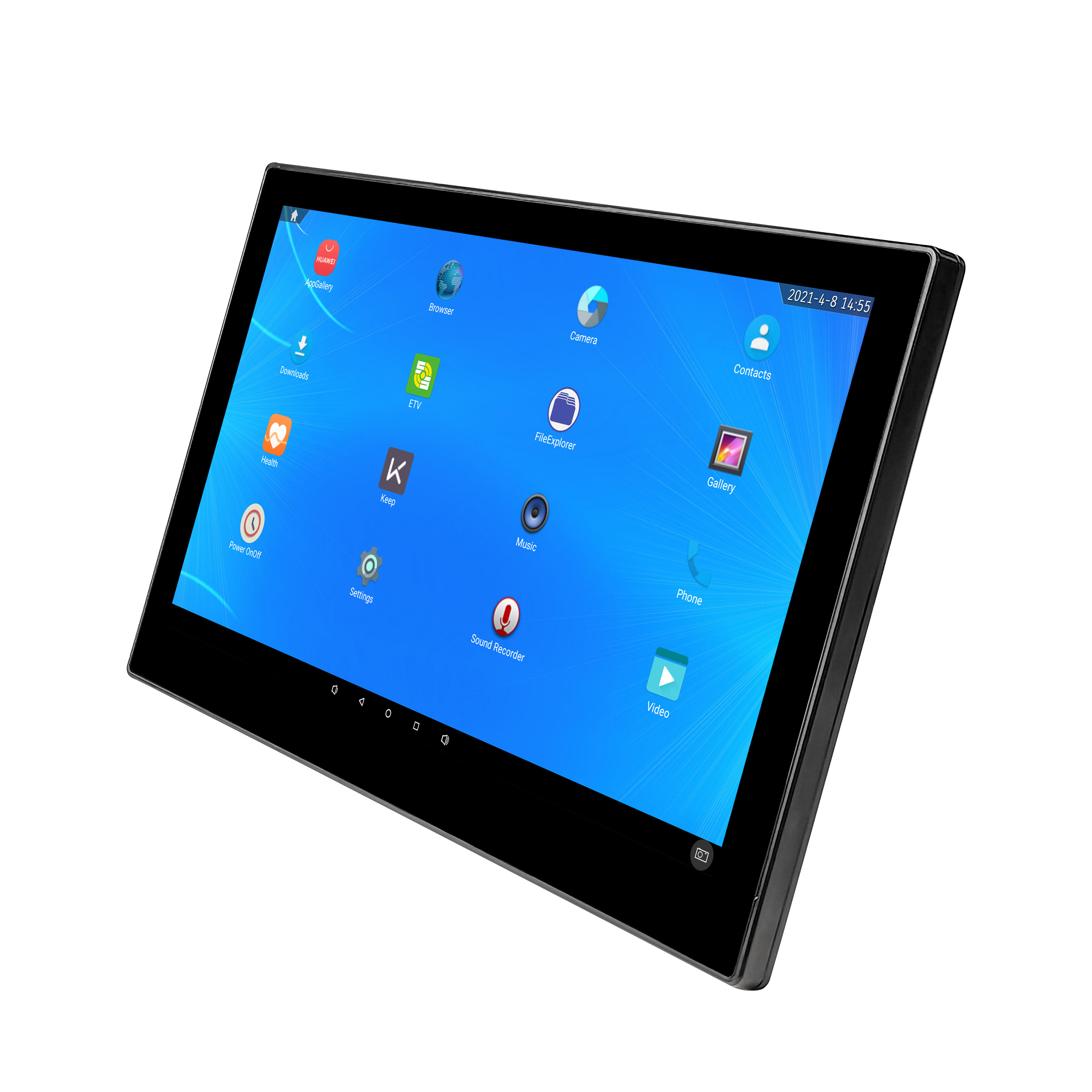 Industriale Computador <span class=keywords><strong>Notebook</strong></span> Da 13.3 Pollici Android All-In-One PC Embed Capacitivo <span class=keywords><strong>Touch</strong></span> Computer Portatili Del Computer Per Tapis Roulant