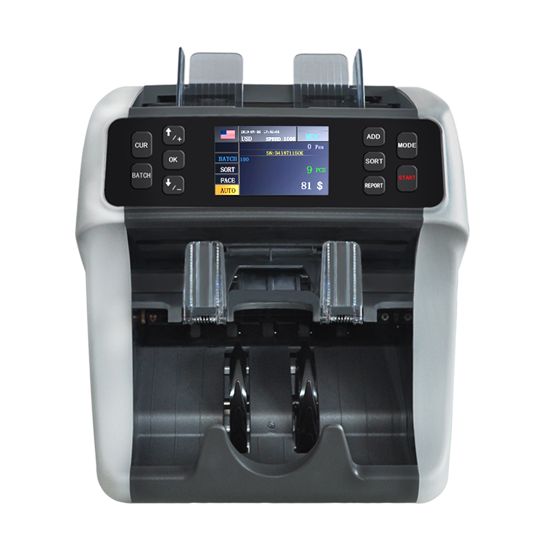 Multi currency cis mixed denominations banknote sorting machine value bill money counter mix banknote sorter machine