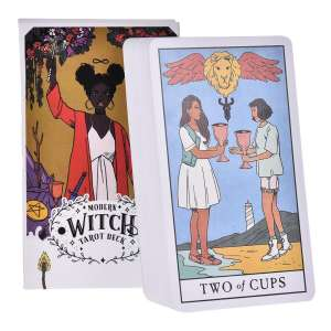 78 Pcs The Modern Witch Tarot Deck Tarot Cards Family Holiday Party Playing Cards English Tarot Game Cards Board Games Set