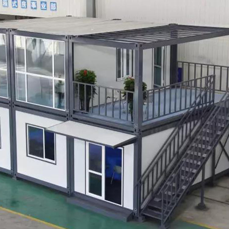 Approved Modified Prefab House Shipping Efficient Expandable Beautiful Design Modern Container House For Sale