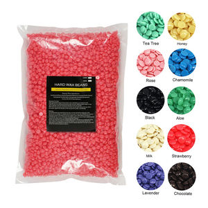 Professional depilatory wax beads hot film hair removal hard wax beans 1000g