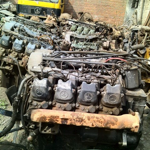 GOOD CONDITION AND ORIGINAL USED FOR Mercedes Benz Engine om442 om442LA om442A with turbo / No turbo