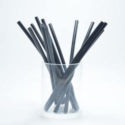 Wholesale 7mm black Color EVA Hot Melt Glue Stick non toxic Hot melt adhesive strip