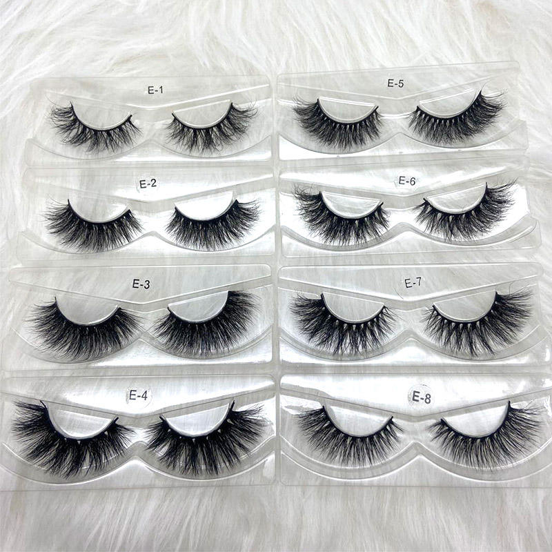 Mink eyelashes vendor 5D mink lashes handmade full strip Lashes cruelty free Luxury Mink Eyelashes Makeup Lash