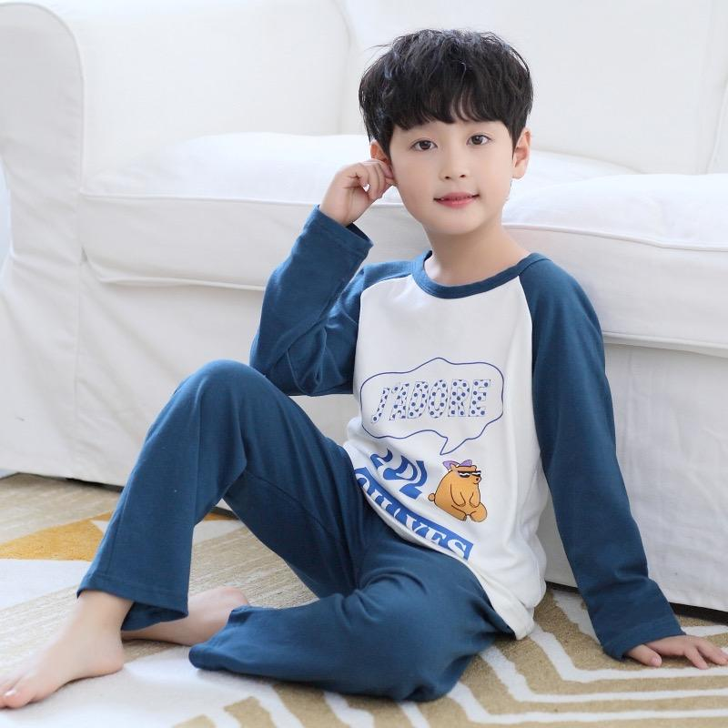 Children's boy sleepwear pyjamas child pajamas sets kids high quality pijamas custom made pajamas boys