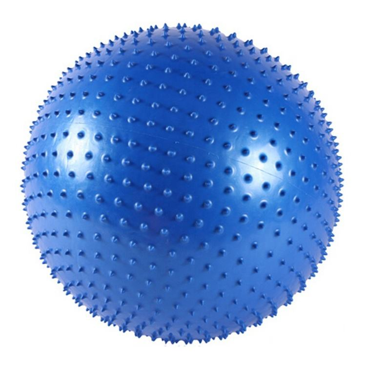 Ningbo Virson PVC Inflatable Fitness Yoga Massage Ball Anti-Burst Gym Exercise Ball with Spike