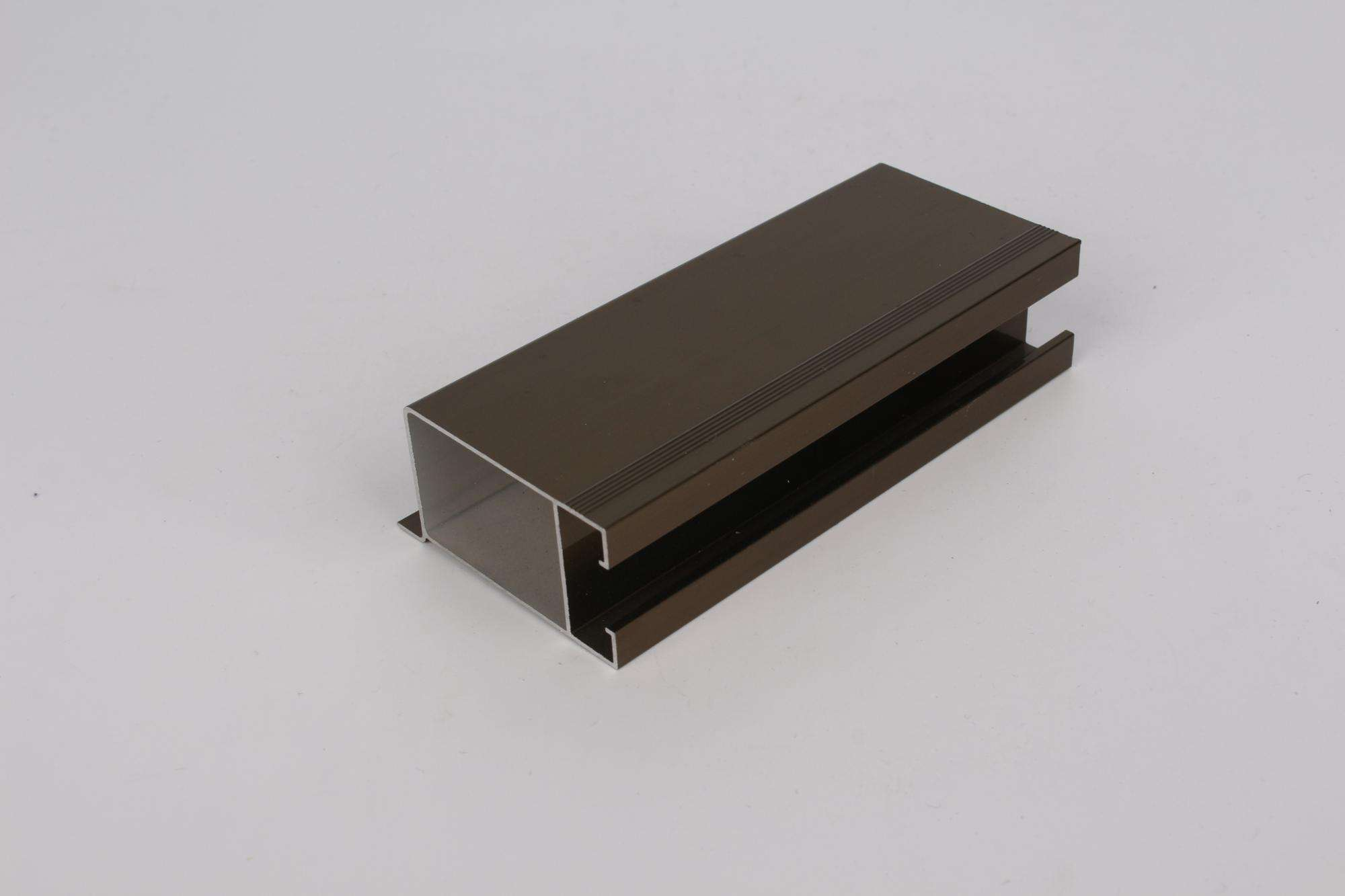 extruded aluminum slide rails for doors