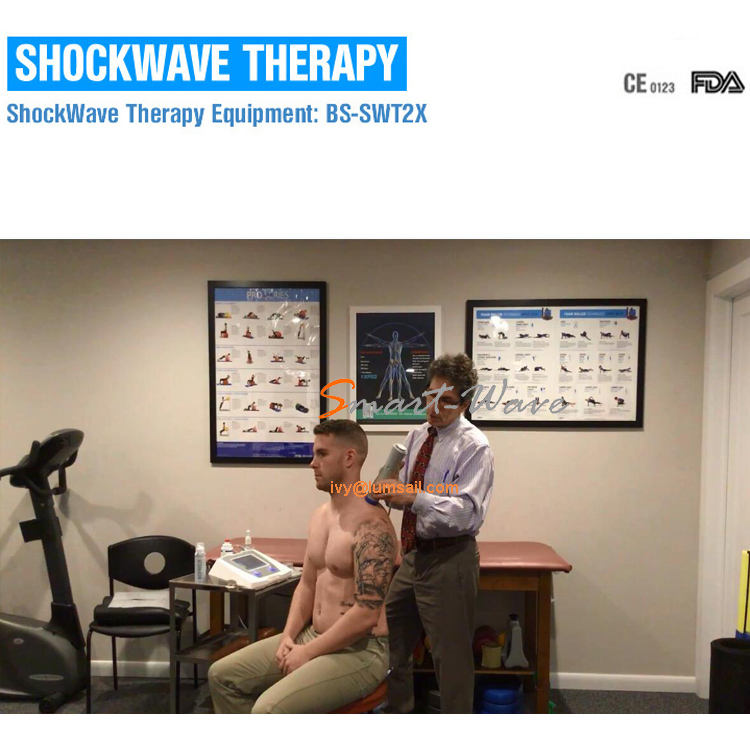 SmartWave Shock wave Therapy Massage machine for Thoracic Outlet Syndrome