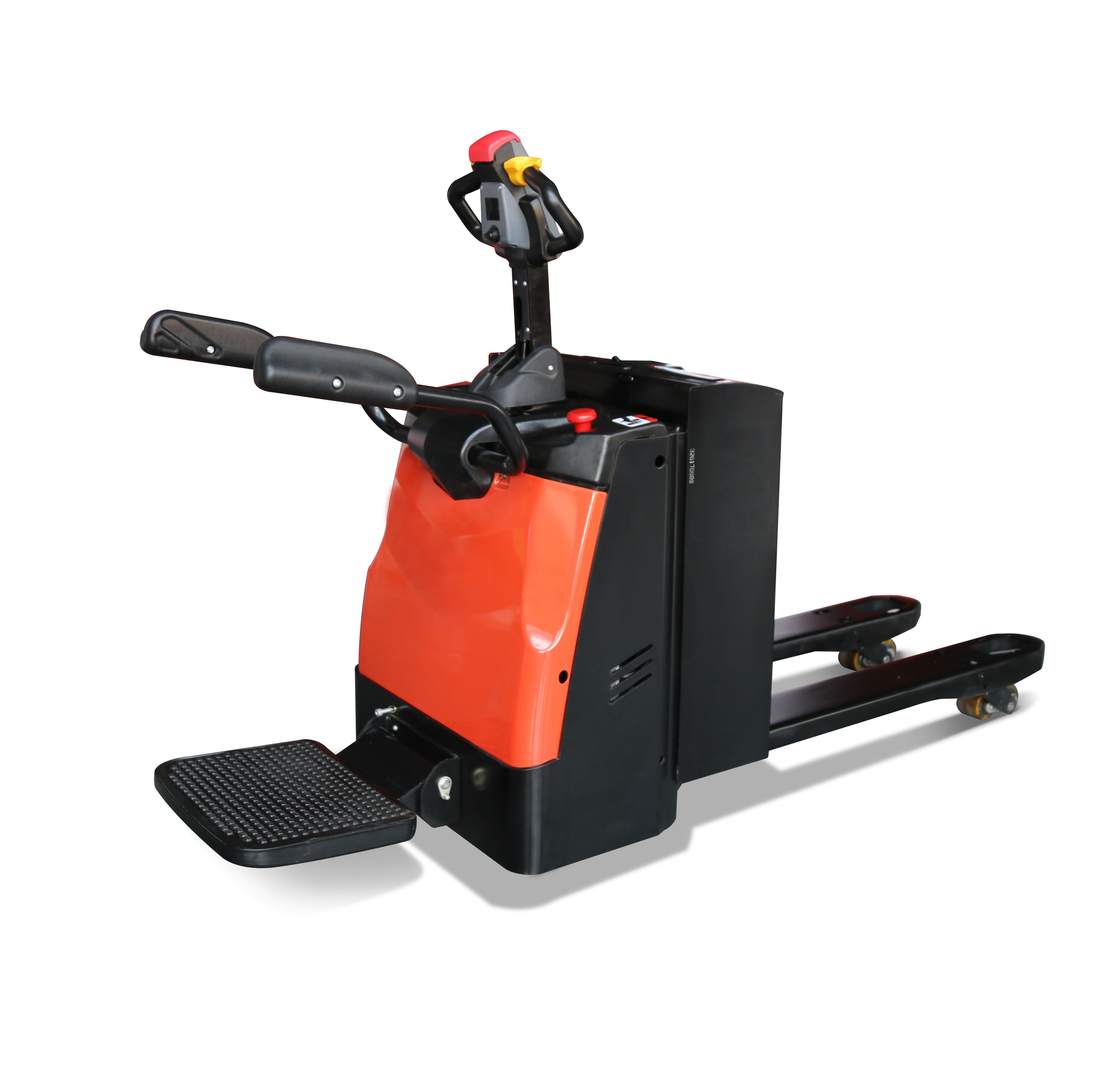 CE Pedal Type Electric Pallet Truck Powered Pallet Jack
