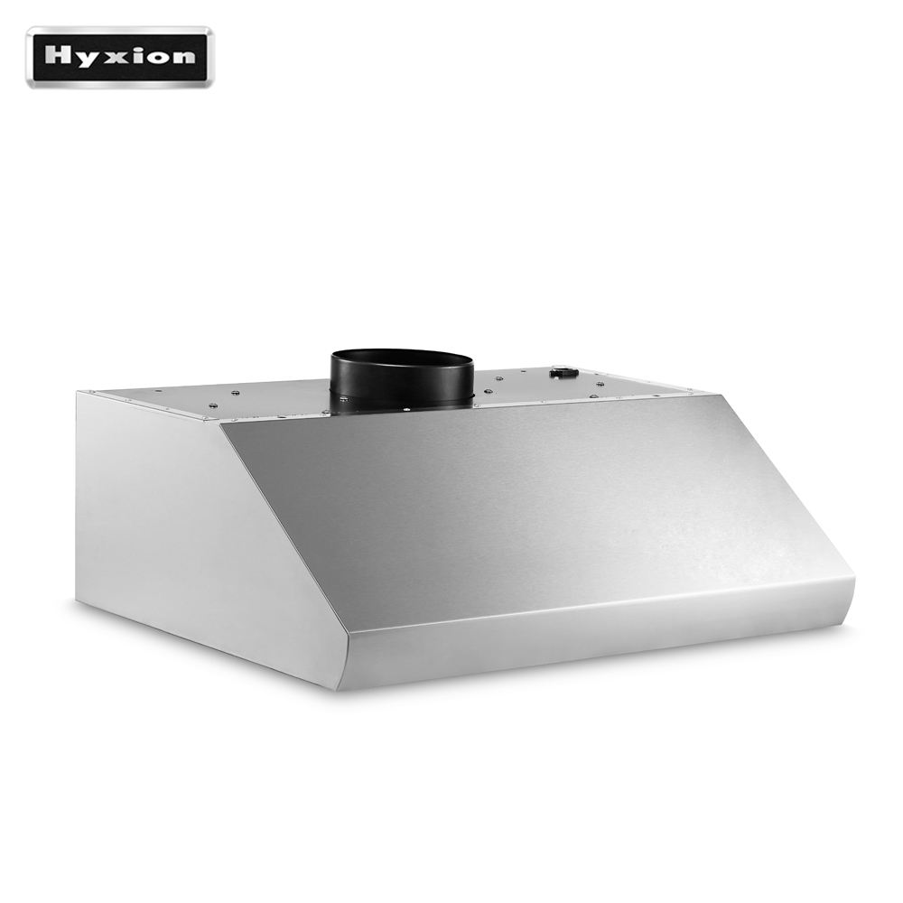 Hyxion 60Hz halogen light welding hood hood vent car side exhaust range hood with distribution