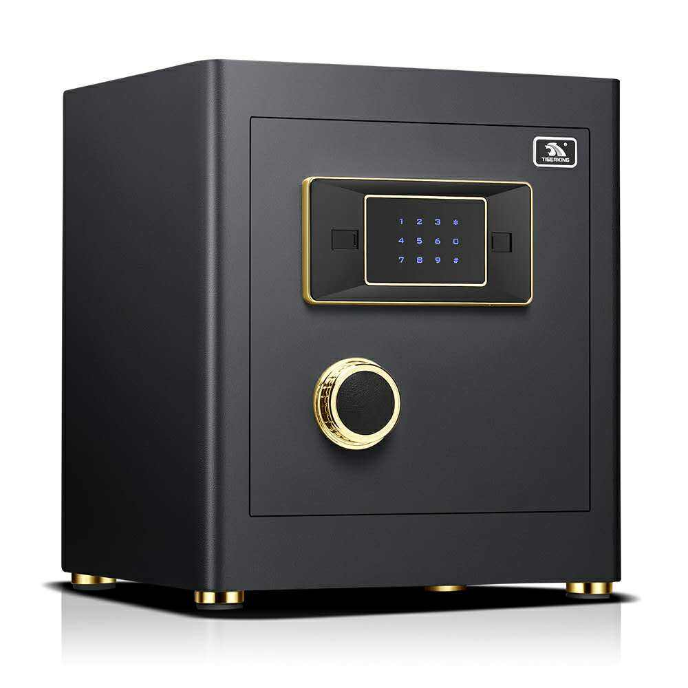 high quality safe box intelligent electronic burglary digital lock safe for the home and business High-grade safe
