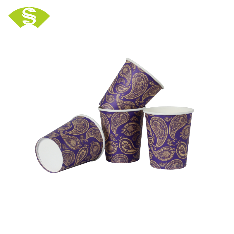 waterproof pla coated 4oz disposable take away paper espresso cups