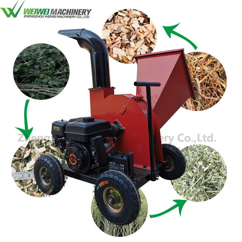Weiwei machine tractor mounted wood chipper shredder mulcher