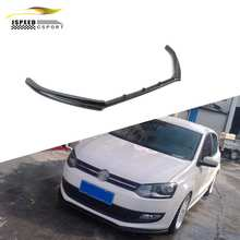 Front Bumper Position FRP Polo Front Bumper Lip for VW Polo GTI R