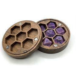 Dungeon and dragon accessory Wooden Dice Case